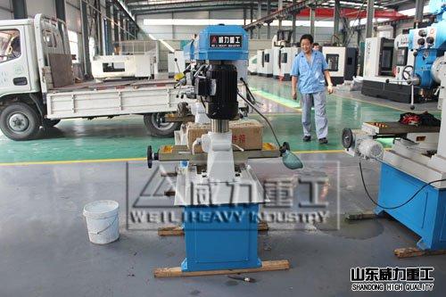 ZXTM-40钻铣床发货流程quan纪录